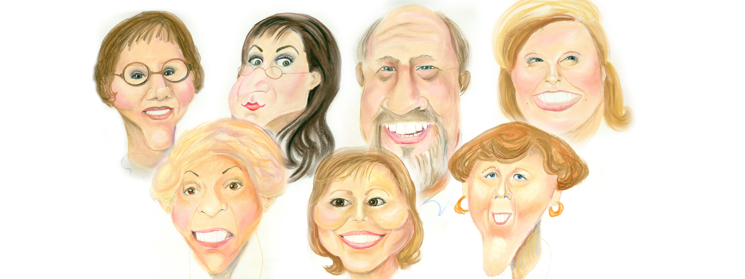 agency caricature group2019